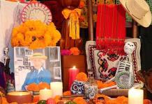 Un altar dedicado a la filósofa mexicana Graciela Hierro en Marruecos