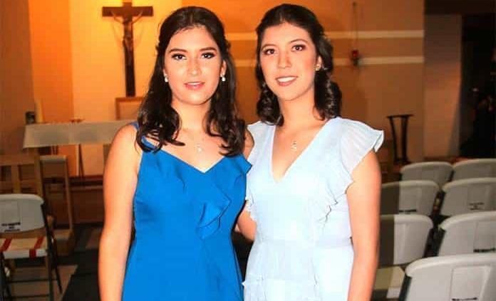 Camila Zamudio Chacón y Sofía Palomino Reyna celebraron felices sus 15 años