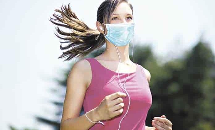 Cubrebocas no dificulta tu respiración durante el ejercicio: estudio