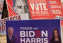 Joe Biden gana también Nevada, según las proyecciones de los medios