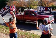 Washington se lanza en masa a la calle para celebrar la victoria de Biden