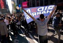 Nueva York celebra en las calles la victoria de Joe Biden sobre Donald Trump