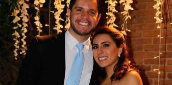 Melisa Naya Martínez y Sergio Eduardo Hinojosa Macías realizan su matrimonio civil