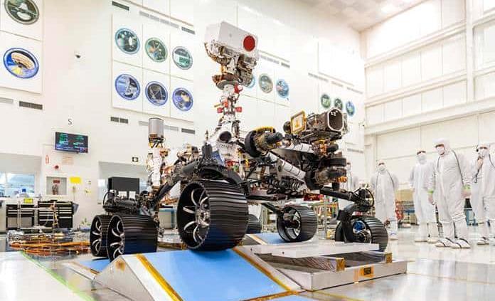 La ESA y la Nasa tiene capacidad para mandar muestra de Marte a la Tierra