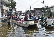 Espera gobernador de Tabasco controlar inundaciones la siguiente semana