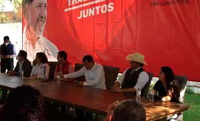 Adrián Esper ya anda en campaña para Gobernador