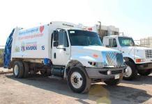 Rehabilitan parque vehicular municipal