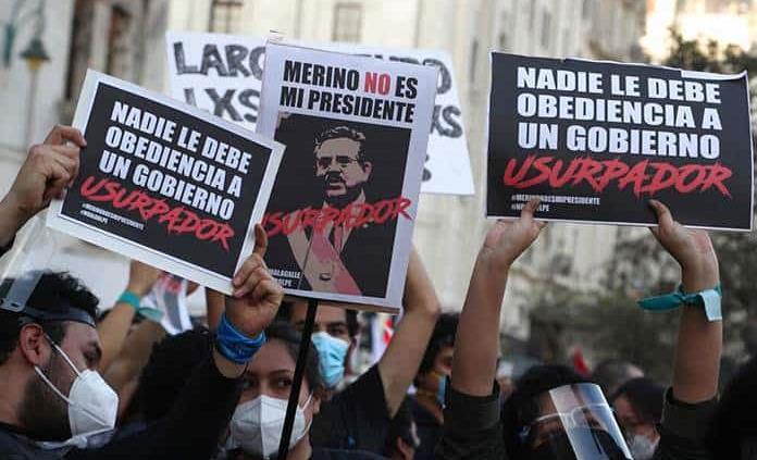 Expresidente de Perú rechaza informe de la ONU sobre violencia por estar liderado por Bachelet