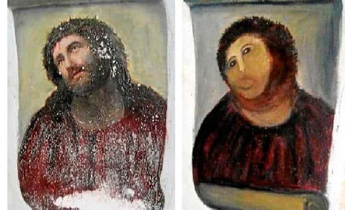 Las restauraciones de arte más polémicas de España