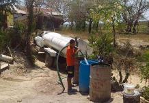 Quejas en la zona tének por falta de agua de agua potable