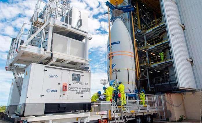 Un error humano hizo fracasar el lanzamiento de dos satélites europeos