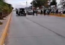Tras enfrentamiento en el bulevar Españita, reportan a un civil muerto y un policía herido