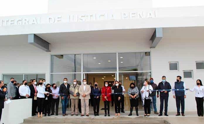 Inauguran Centro Integral de Justicia Penal de ZM