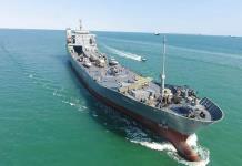 Guardia Revolucionaria iraní lanza un nuevo portaaviones
