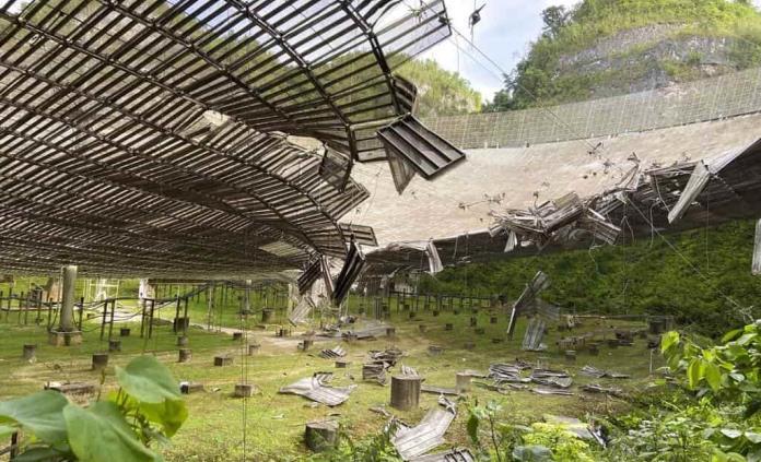 Cerrarán importante telescopio en Puerto Rico debido a daños
