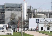 Tyson Foods suspende a supervisores por apostar sobre COVID-19