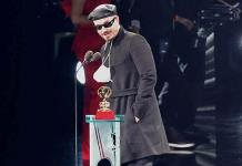 J Balvin gana su 1er Latin Grammy de la noche