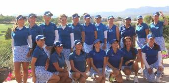 Reconocen a destacadas jugadoras en el golf