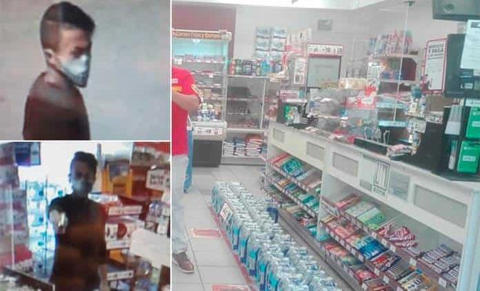 Violento asalto a una tienda en Av. San Pedro