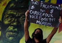 Indignación en Brasil por homicidio de hombre de raza negra