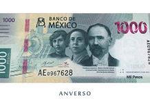 Banxico presenta el billete de $1,000