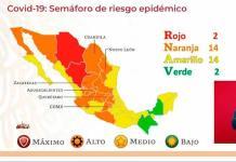 VIDEO| Dos entidades del país en semáforo verde; SLP permanece en naranja