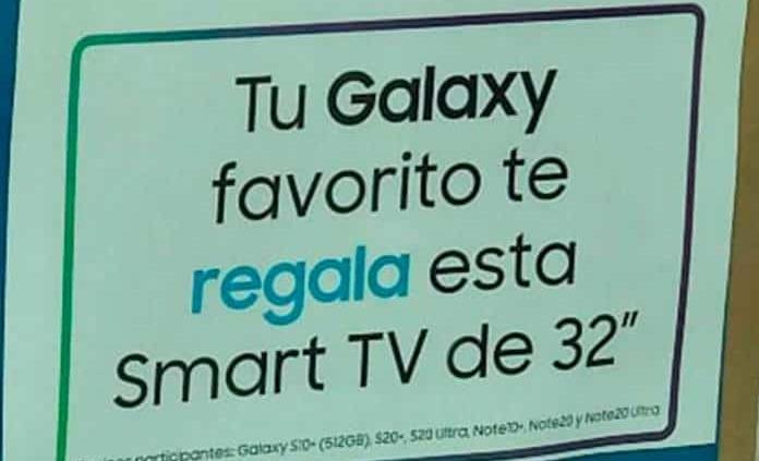 Cliente compra celular y se lleva tele gratis, por error en anuncio