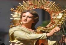Músicos sólo harán misa a su santa patrona