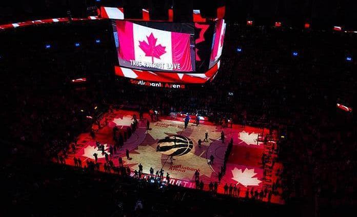 Raptors no podrán jugar en Canadá ante la pandemia