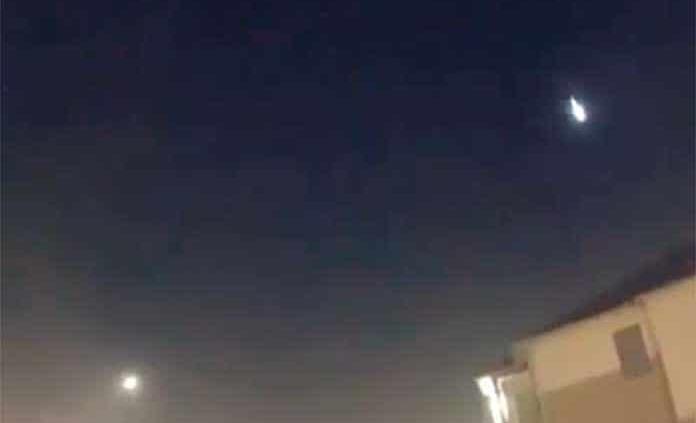 Destello de luz en Tamaulipas sí fue un meteorito