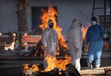 Supera India los 9 millones de contagios