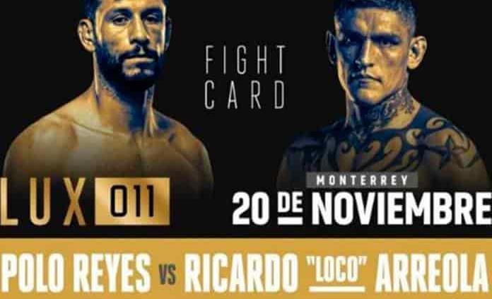 Todo listo para el Lux Fight 011, en Monterrey
