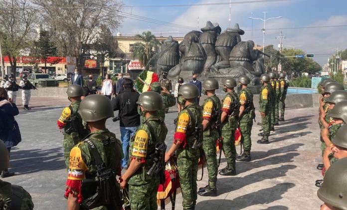 Conmemoran el 110 aniversario de la Revolución Mexicana