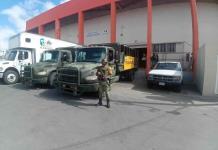 Custodia Sedena traslado de insumos médicos a hospitales de SLP