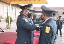 Otorgan ascensos y condecoraciones a personal de la XII Zona Militar