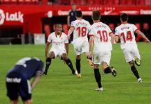 El Sevilla remonta al Celta en la recta final