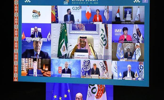 Crisis del coronavirus domina cumbre del G20
