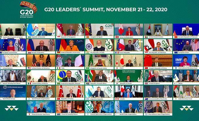 El G20, con la vista puesta en la recuperación económica