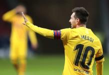 Messi llega con derrota a los 800 partidos en el Barcelona