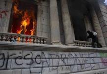 Al menos 22 detenidos durante las manifestaciones en Guatemala