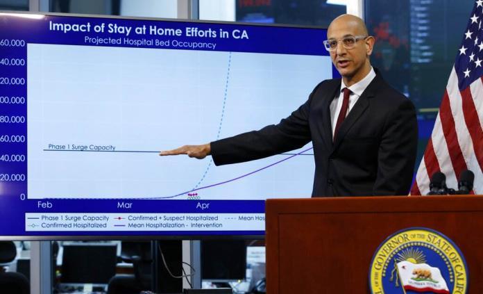 Imponen toque de queda en California por alza de contagios