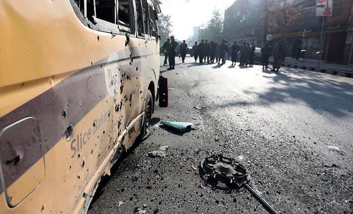 Al menos ocho muertos y 31 heridos en un ataque con morteros contra capital de Afganistán