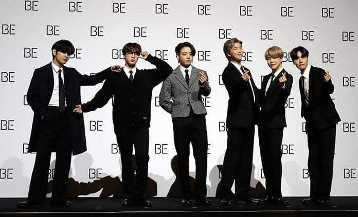 """BTS estrena álbum """"Be"""""""