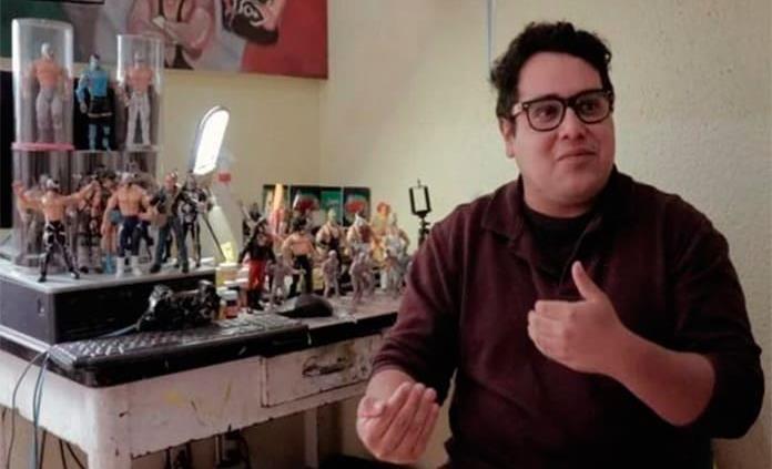 César Izquierdo, artista potosino que fusiona el arte y la Lucha