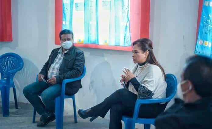 Participación en unidad, pide Sonia Mendoza
