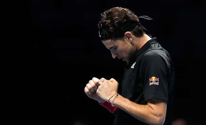 Thiem se impone a Djokovic en semis de la Copa Masters