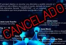 Senadora de Morena cancela foro sobre Covid con Jaime Maussan
