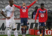 Lille goleó 4-0 al Lorient