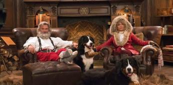 Kurt Russell, Goldie Hawn y Chris Columbus salvan la Navidad