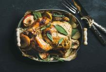 Una receta  del chef Darren Walsh para Thanksgiving
